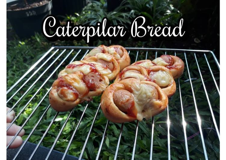 Caterpilar Bread atau Roti Sosis