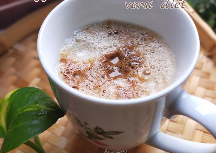 COFFEE LATTE LIKE CAFE versi diet - resepipouler.com