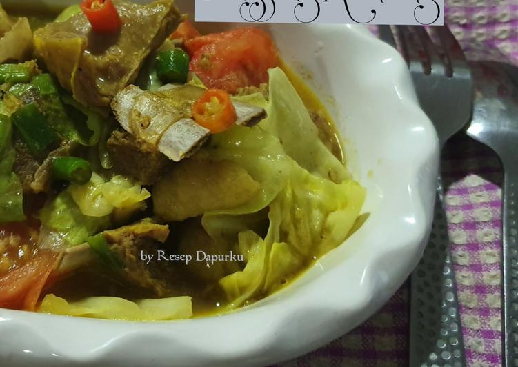 Tongseng Kambing (no santan)