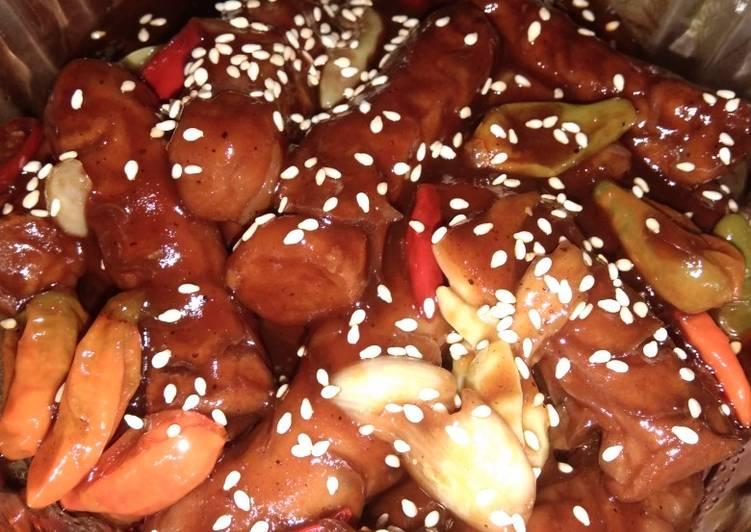 Sosiz with saos barbeque, hot banget guyss😱