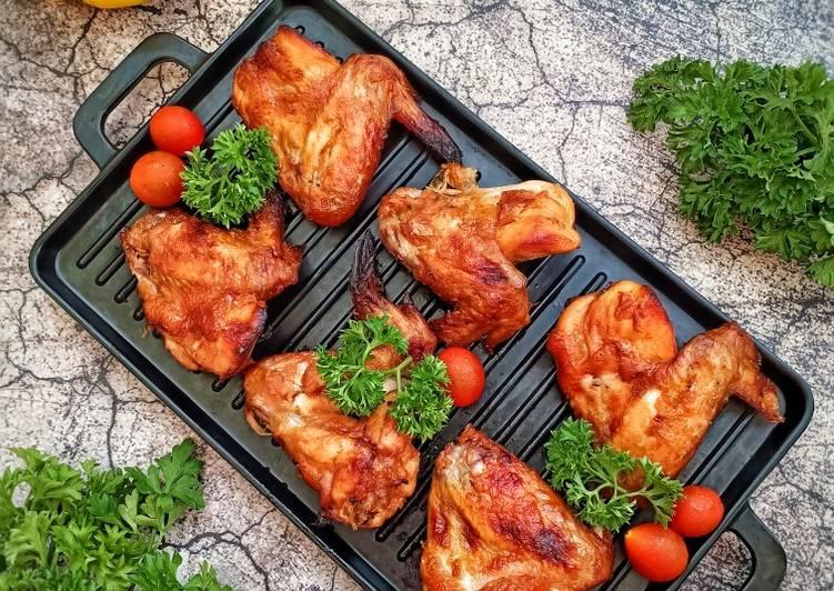 385. Sayap Ayam Goreng Bumbu Oriental