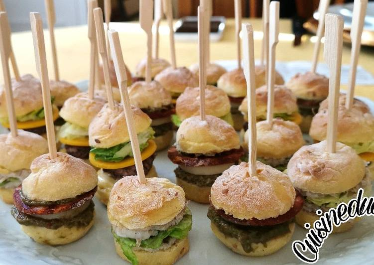 Recette Délicieux 🍔 Pains à minis burgers !! 🍔