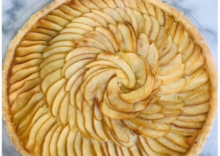 Tarte amandine aux pommes