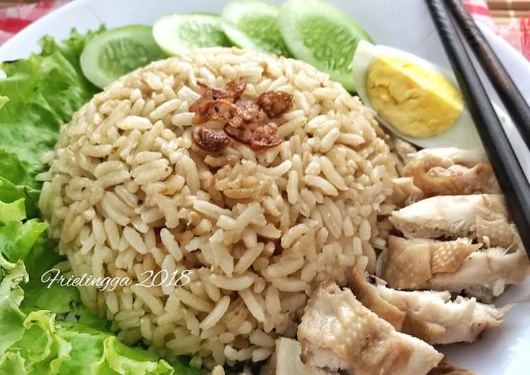 Nasi Hainan dg Rice cooker