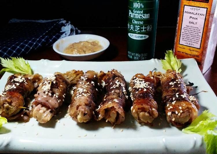 Beef Sliced with Enoki mushrooms  #Ketopad