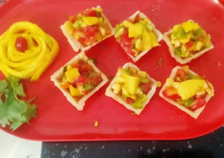 Simple Way to Prepare Ultimate Mango salsa appetizer bites