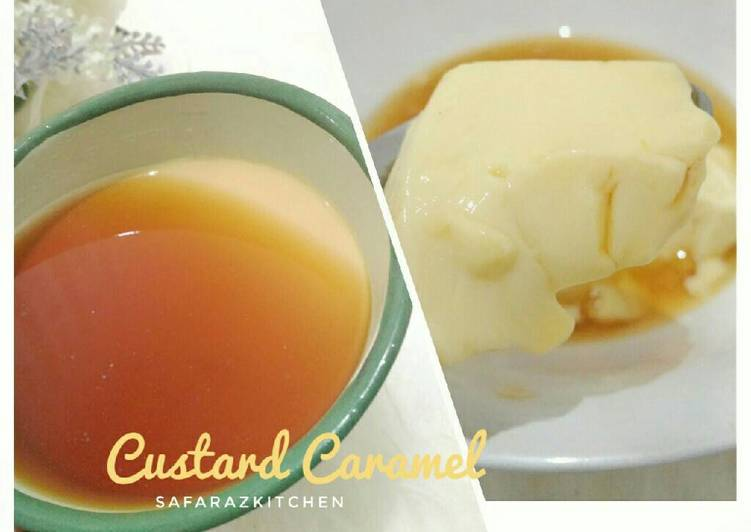 Puding Karamel Simple Custard 🍮😍🍮