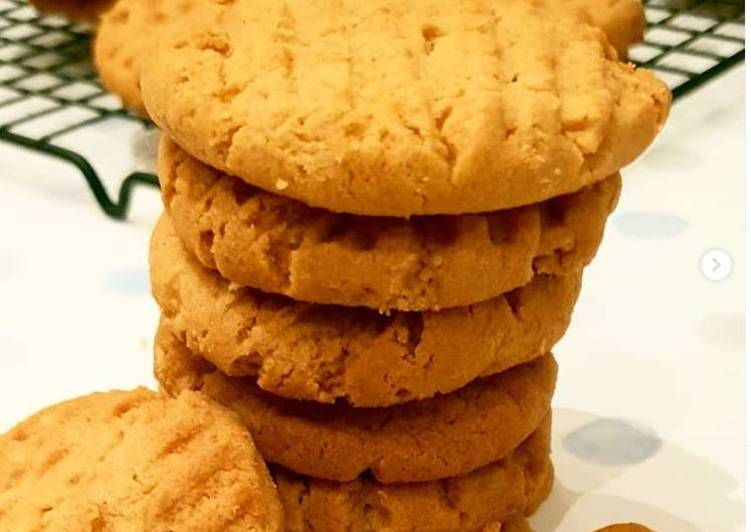 Steps to Prepare Any-night-of-the-week Vegan Peanut Butter Cookies