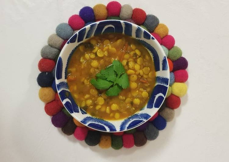 Easiest Way to Make Homemade Nepali dal bhat