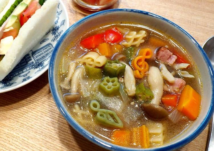 Healthy Vegetable Soup with Macaroni, Apples Can Have Huge Benefits For Your Health