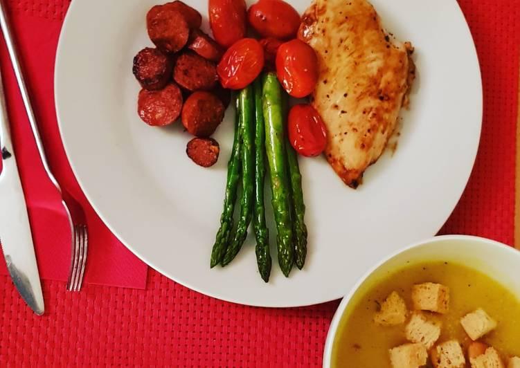 Recipe of Speedy Pumpkin & Nutmeg Soup