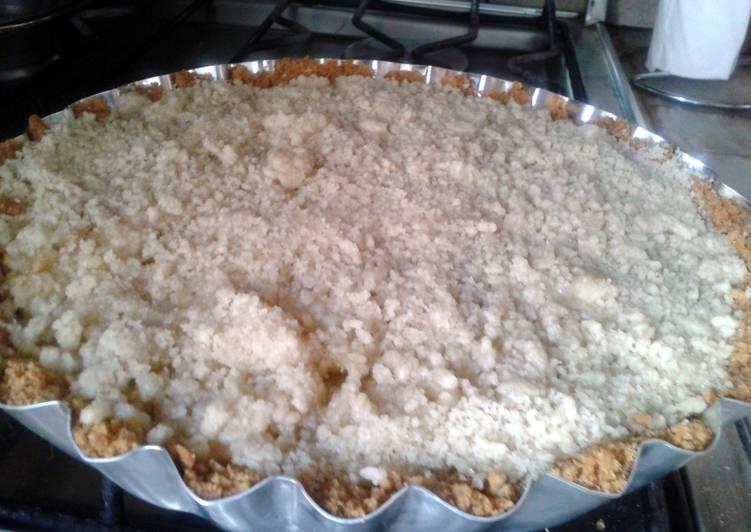 Recipe: Tasty easy apple crumble