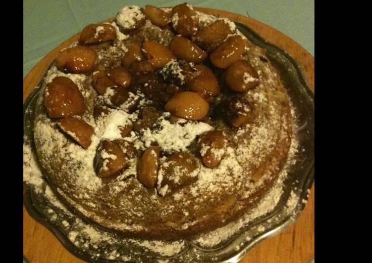 Le moyen le plus simple de Préparer Savoureux Gâteau aux pêches abricots et noisettes