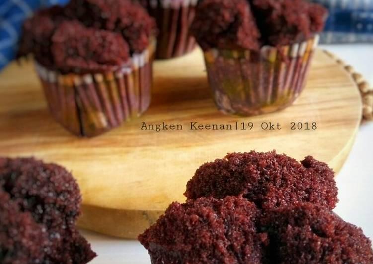 Bolu Kukus Coklat Mekar (nyoklat, moist, no mixer, no telur)