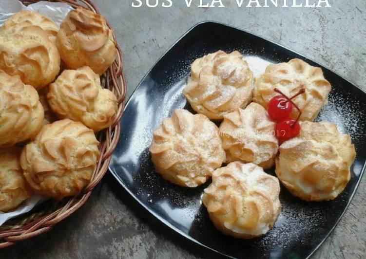 Sus Vla Vanilla (choux pastry / cream puff)