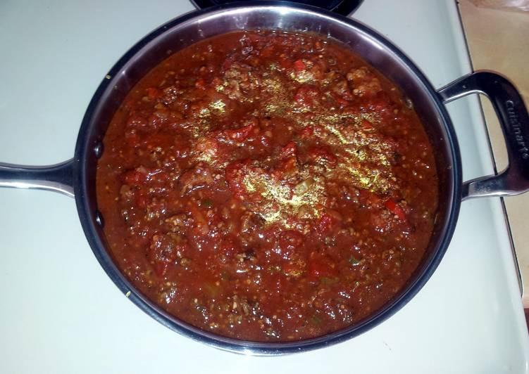 Nicole's Spaghetti Sauce