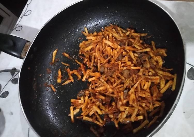 Sambal goreng kentang ati ayam mantap betul