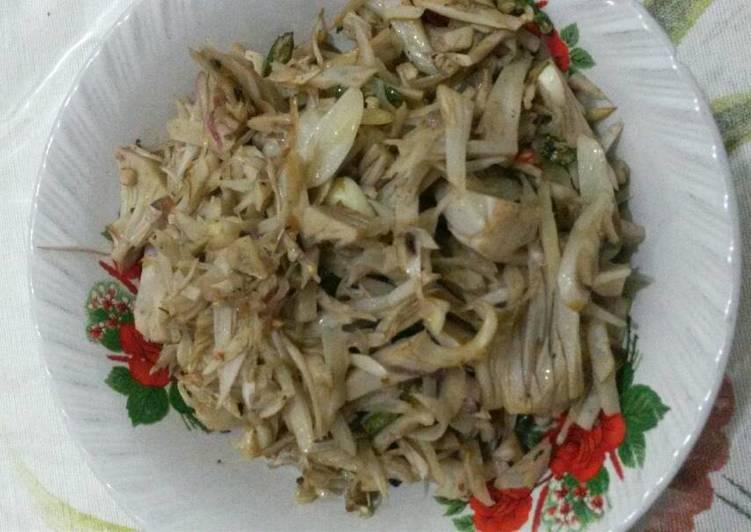 Tumis sayur Nangka Cabe Rawit