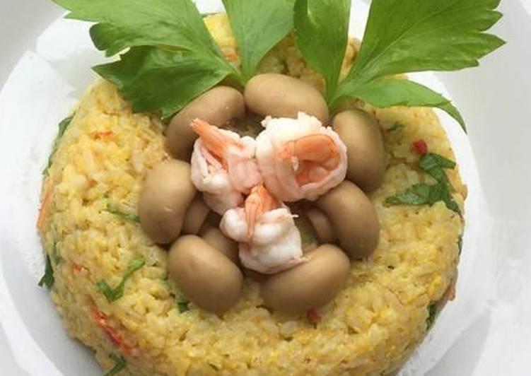 Nasi Goreng Seafood Bumbu Rempah