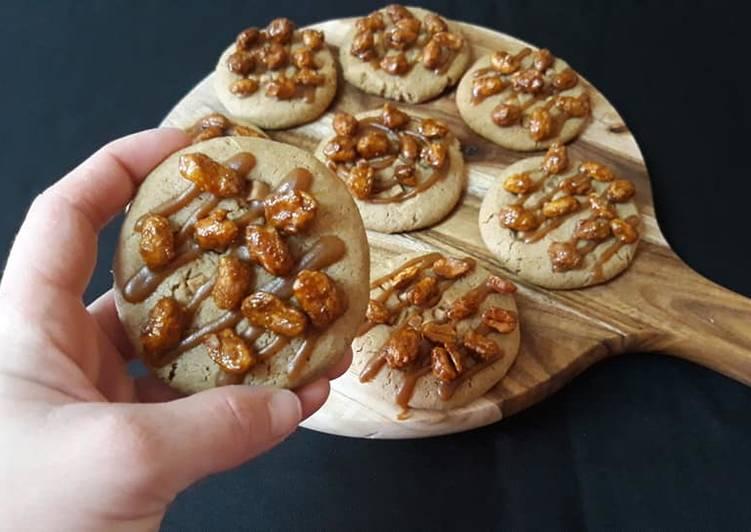 Cookies praliné, carame