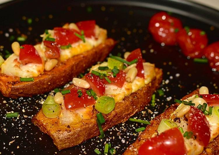 La Meilleur Recette De Toast de patate douce 🍠