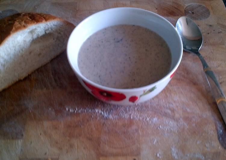 Step-by-Step Guide to Prepare Perfect Mushroom Soup