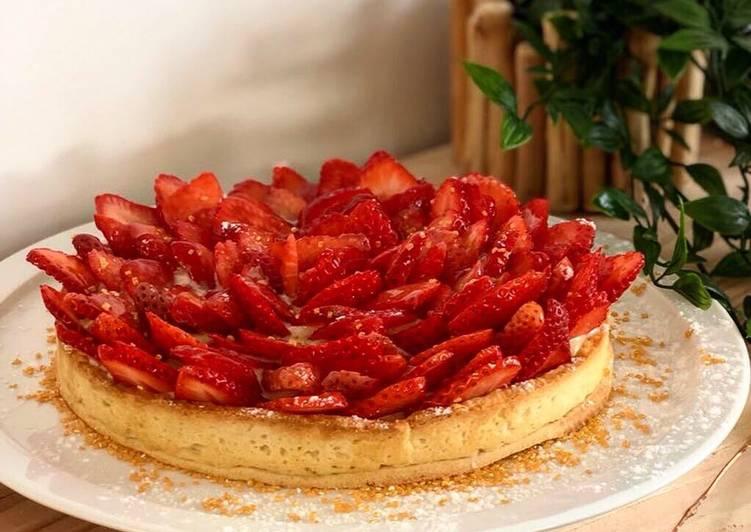 Tarte au fraise