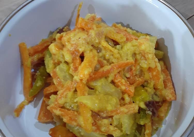 Acar kuning wortel dan mentimun - cookandrecipe.com