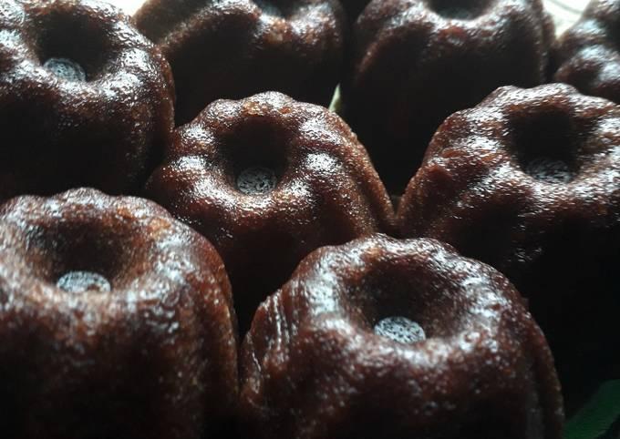 Kue kukus chocolatos