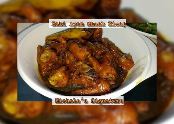 Kaki Ayam Masak Kicap Michele's Signature