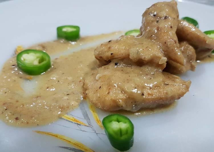 Malay Chicken Korma (Gulai Putih)