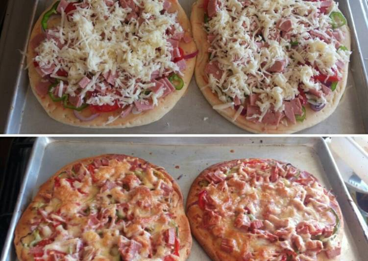 Recipe of Homemade Beef brawn pizza
