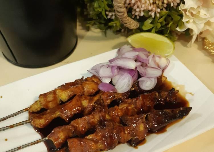Sate Ayam Bumbu Kecap - cookandrecipe.com