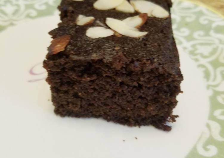 Brownies coklat Keto