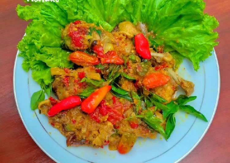 Ayam Woku khas Menado