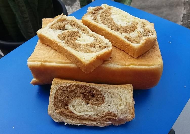 Resep 411. Roti tawar kopi Terenak