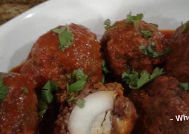 Whosayna's Nargisi Koftey Gravy