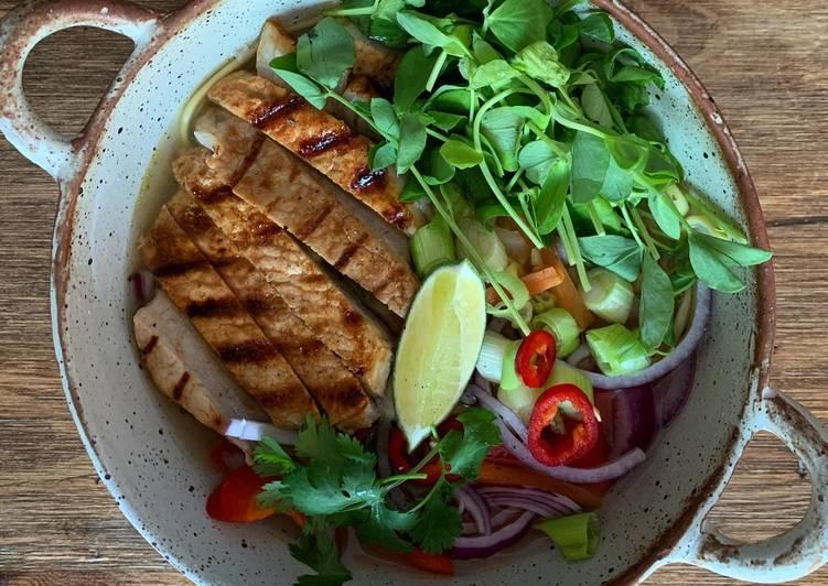 Simple Way to Prepare Favorite Chilli pork ramen