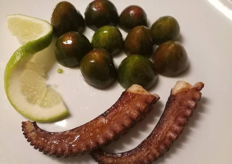 Recipe: Delicious Grilled octopus