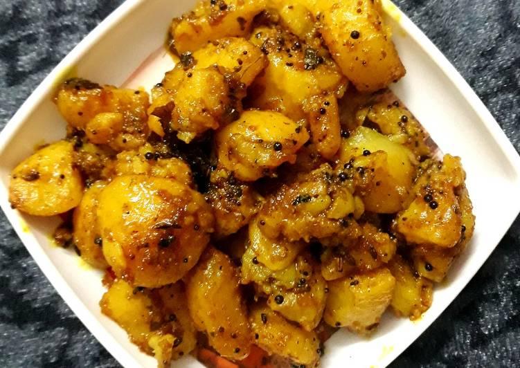 Recipe of Ultimate Jeera aloo