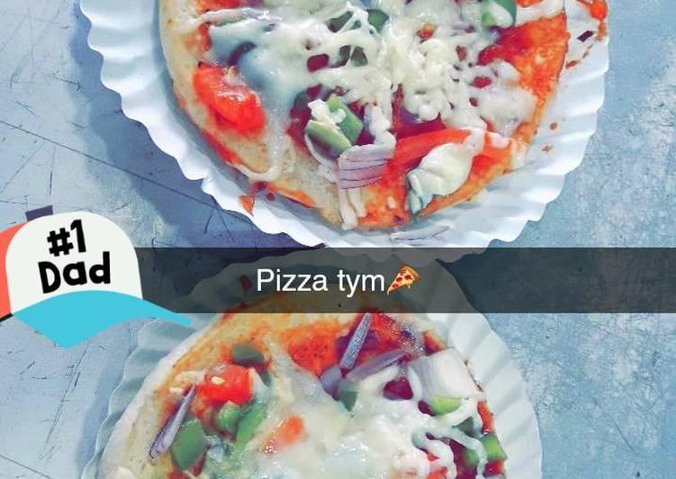 Vegetable Mini Pizza