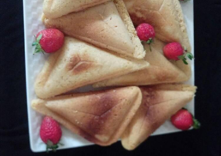 Sandwich maker cake