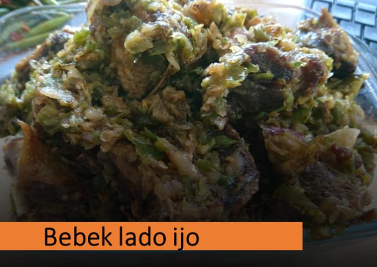 Bebek lado ijo (jualan di Belanda)