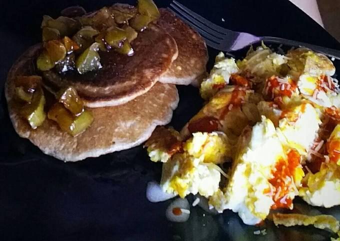 Easiest Way to Make Tasty Apple Pie Pancakes