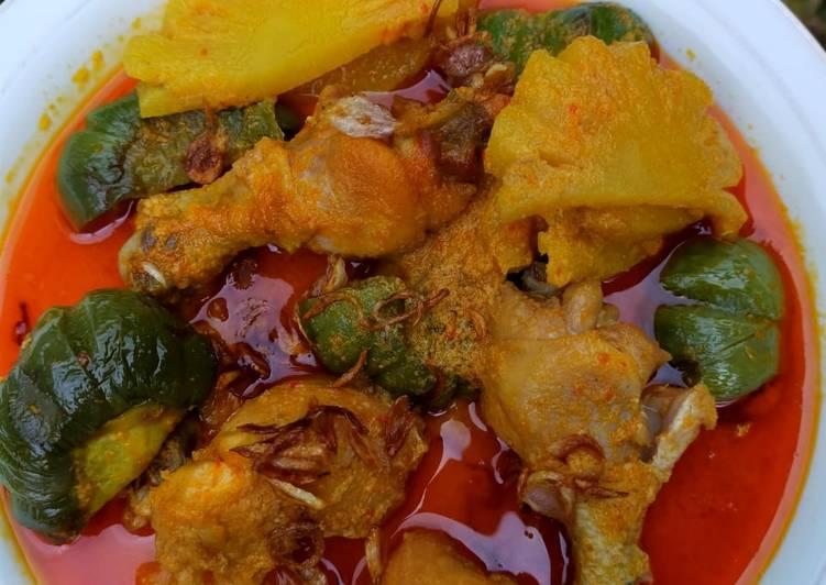 Ayam Kuah Nanas + Terong?