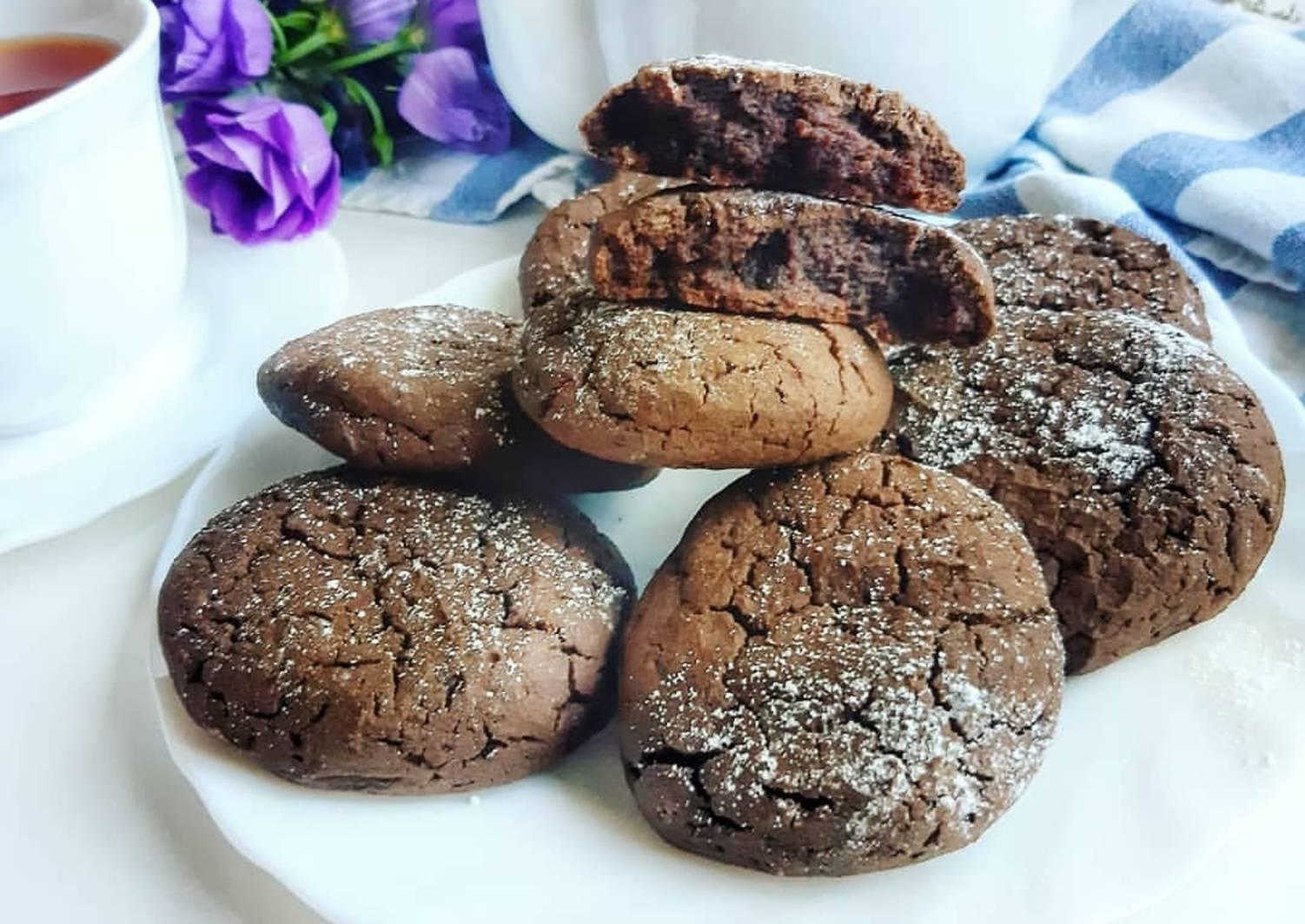 фотографии, супер шоколадное печенье рецепт с фото находится
