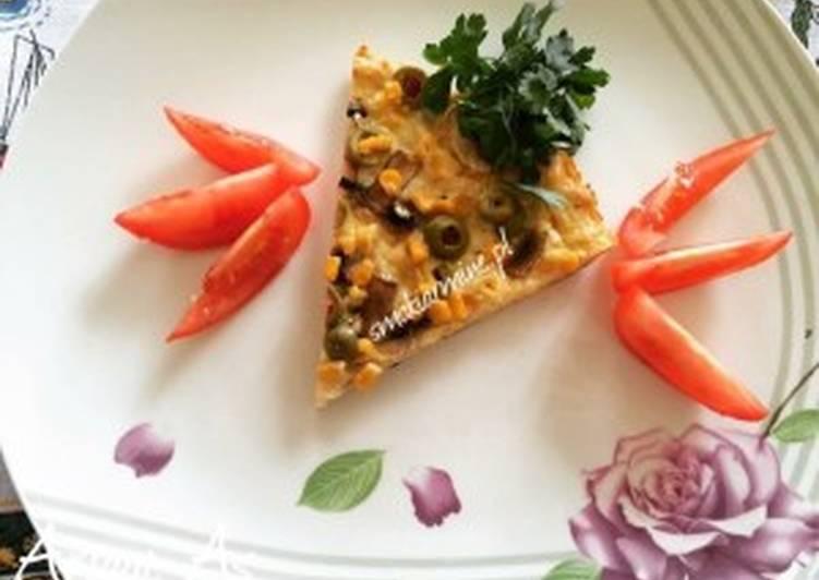 """""""Pizza"""" na drobiowym spodzie (dietetyczna)"""