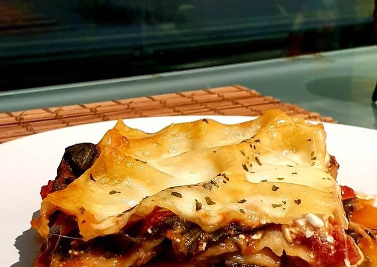 Grandmother's Dinner Ideas Speedy Veggie Lasagna 🍝 🌱