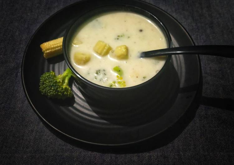 Easiest Way to Make Any-night-of-the-week Thai Baby Corn Soup