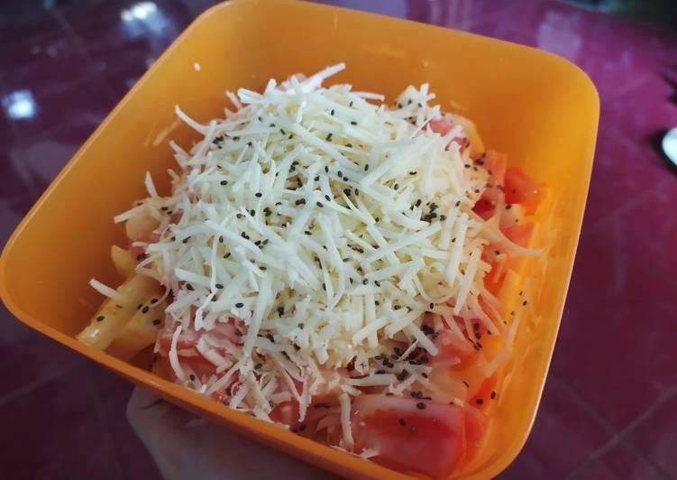 Salad buah chia seeds